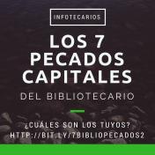 Los 7 pecados capitales del bibliotecario - Una entrada de @Medejean en Infotecarios.com