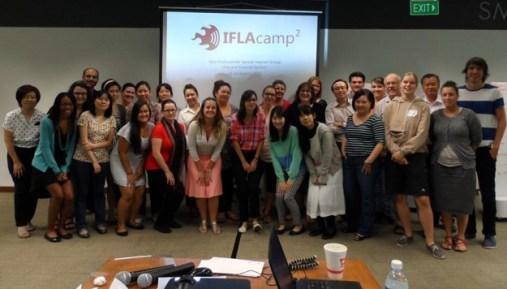 IFLAcamp en Singapur - Agosto de 2013