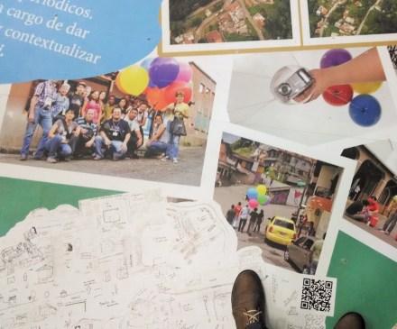 Mapeado social en Biblioteca Piloto La Loma - Medellín