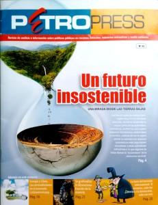 PetroPress, publicación del CEDIB (tapa)