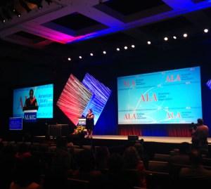 Sesión general de apertura de la Conferencia Anual y Exhibición de la American Library Association