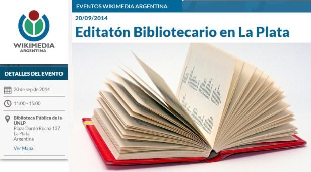 editaton bibliotecario