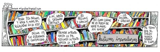 libros lecturas inconclusas