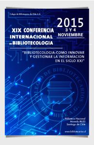 Conferencia Bibliotecología