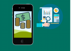 Use o Smartphone para organizar sua vida financeira.