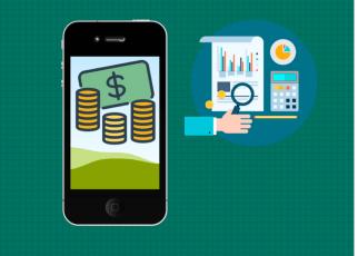 Smartphone organiza vida financeira - Use o Smartphone para organizar sua vida financeira.