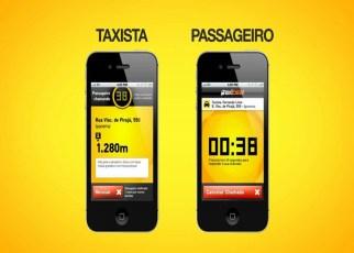 Aplicativos de Taxi - Os aplicativos estão revolucionando a maneira de pedir táxi.