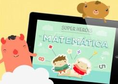 Aplicativo ensina matemática para as crianças de forma divertida.