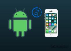 Como transferir arquivos de um dispositivo iOS para Android.
