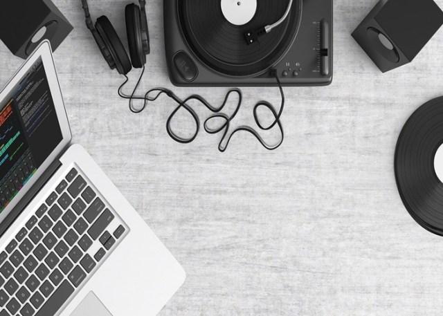 Programa para gravação de música