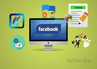 Testes do Facebook pode ser golpe. - Testes no Facebook podem ser golpes para roubar dados e fazer empresas ganharem dinheiro.