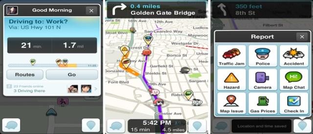 Como navegar no Waze