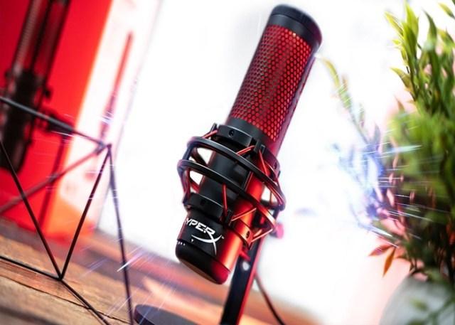 Microfone – HyperX Quadcast - presentes tecnológicos