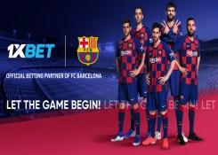 Barcelona adiciona 1XBET como o seu novo patrocinador global.