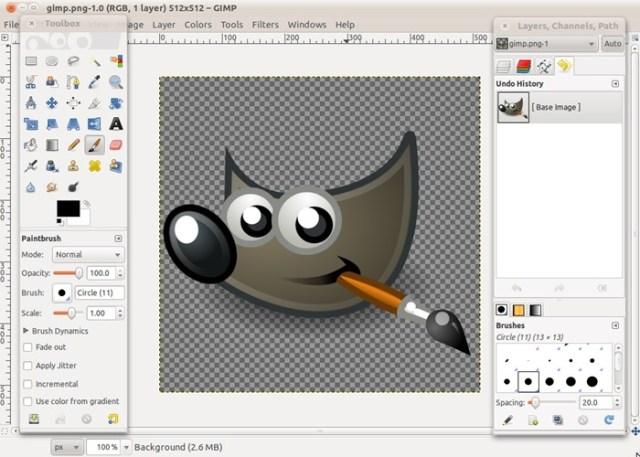 GIMP Melhor editor de fotos grátis