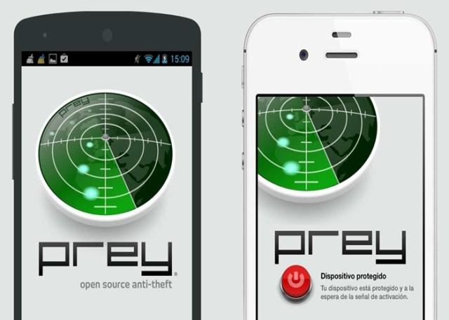 Rastrear qualquer celular com Prey