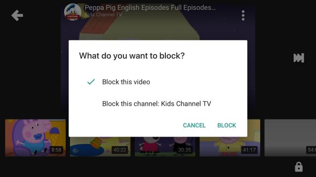 YouTube Kids mais seguro
