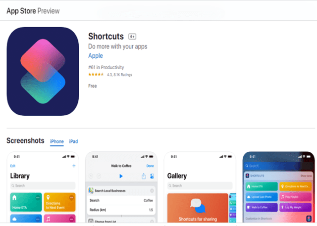 Shortcuts - Como baixar vídeos do Twitter