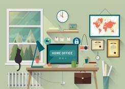 Trabalhar em casa o torna vulnerável a hackers. Veja como se manter seguro.