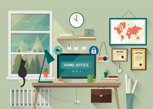 Trabalhar em casa - mercado de trabalho