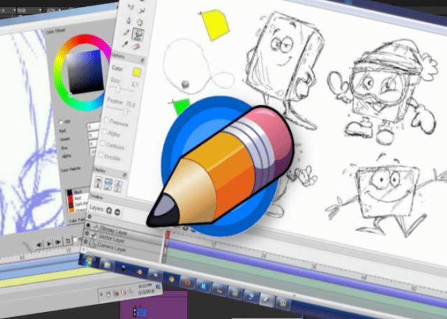 Pencil2D software de animação
