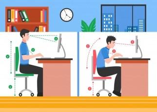 Como manter a ergonomia trabalhando em casa