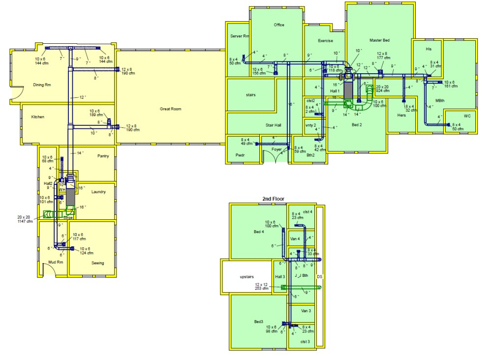 medium resolution of top ducting layout company indiahvac drawing layout 20