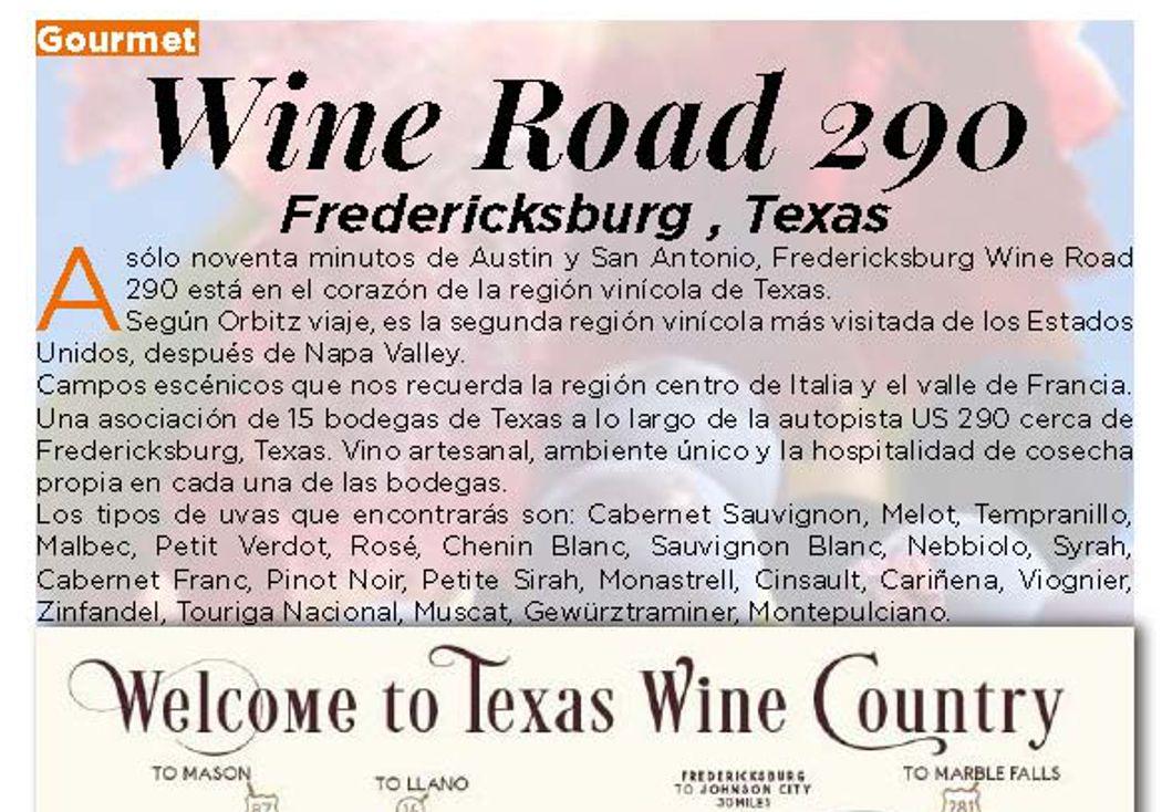 Wine Road 290, Fredericksburg , TX