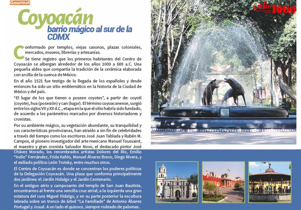 Coyoacán, barrio mágico al sur de la CDMX