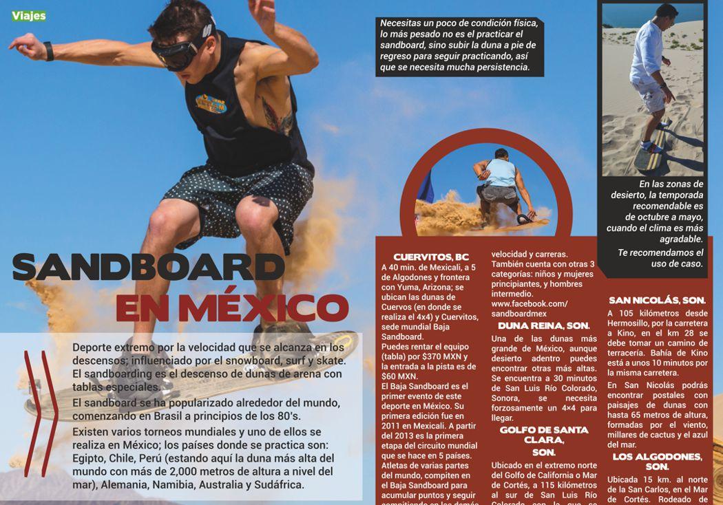 14 lugares para sandboard en México
