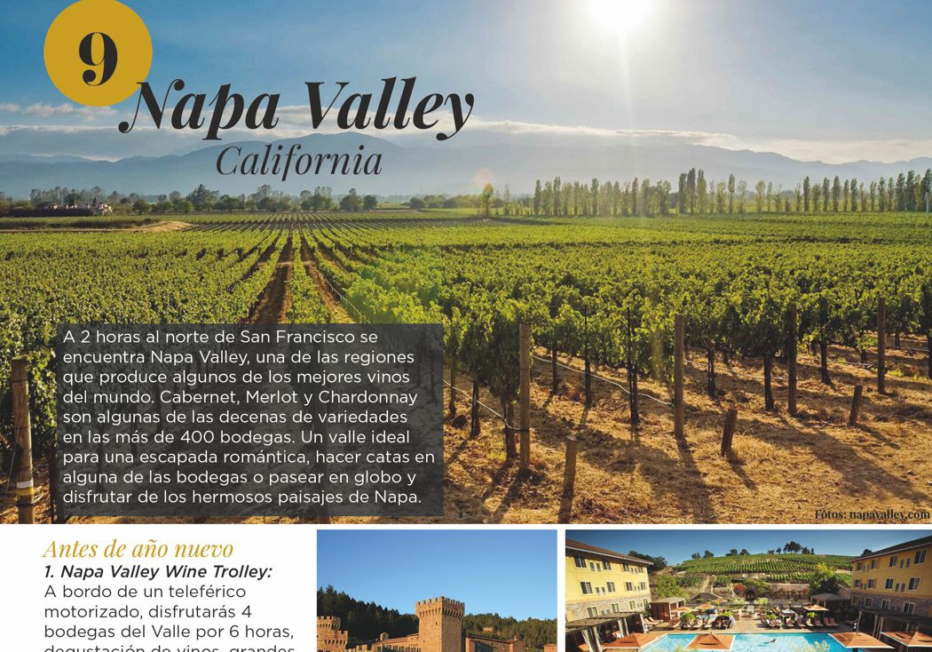 9. Napa Valley, California