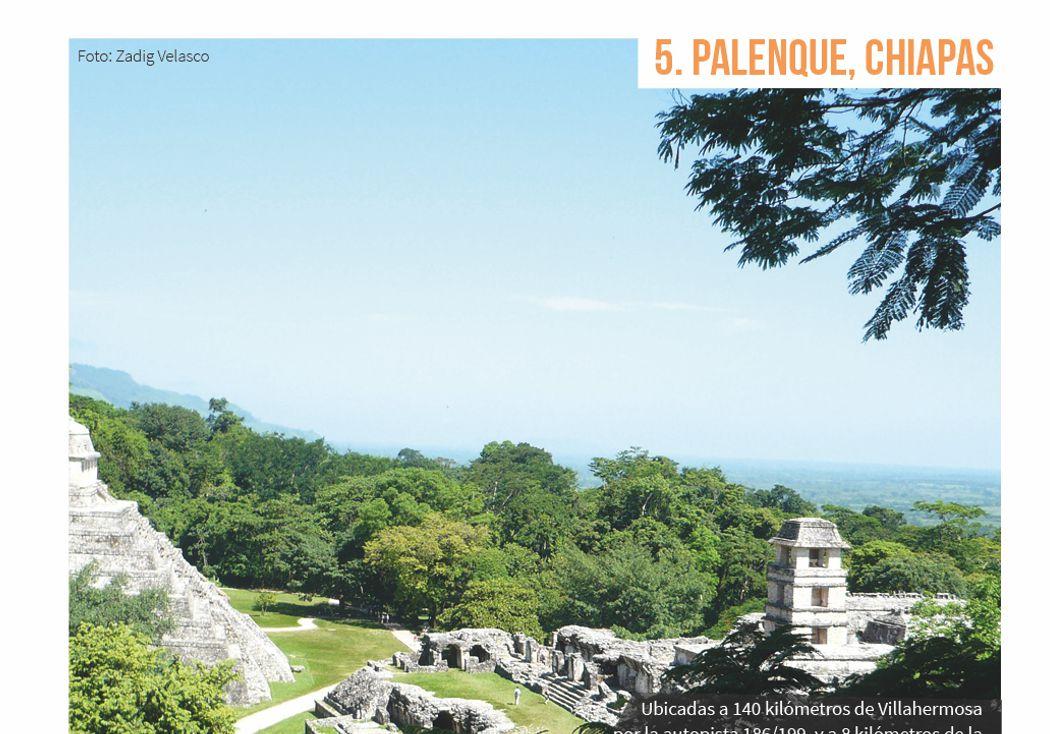 5. Palenque, Chiapas