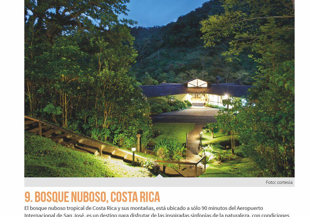 9. Bosque Nuboso, Costa Rica