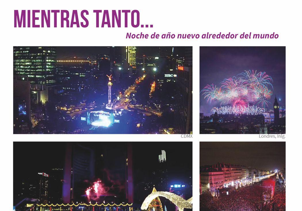 Mientras tanto… Noche de año nuevo alrededor del mundo