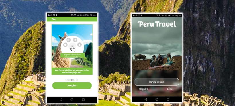 PROMPERÚ lanza aplicación móvil para turistas