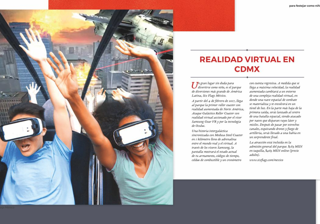Realidad virtual en CDMX