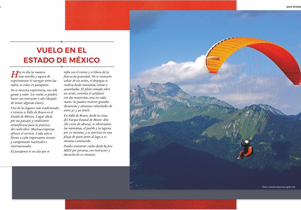 Vuelo en el Estado de México