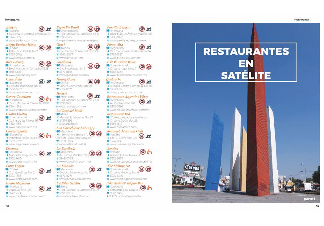 Restaurantes en Cd. Satélite