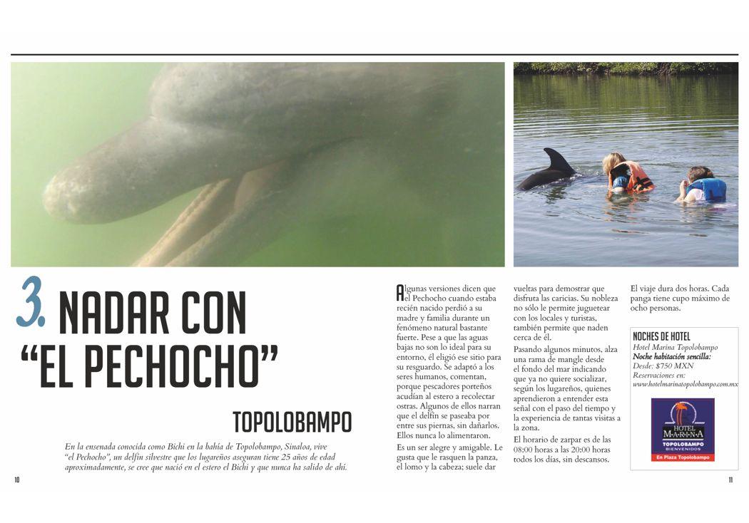 """Nadar con  """"el pechocho"""""""