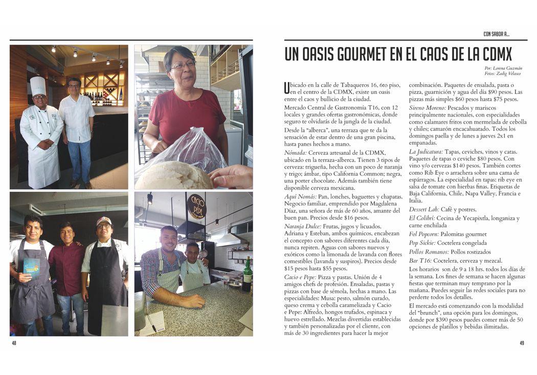 Un oasis gourmet en el caos de la CDMX