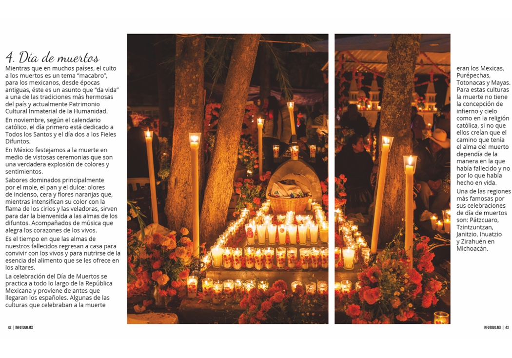 Día de muertos en Michoacán