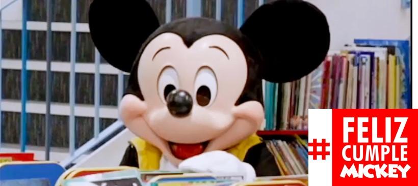 Mickey Mouse celebra su cumpleaños 89
