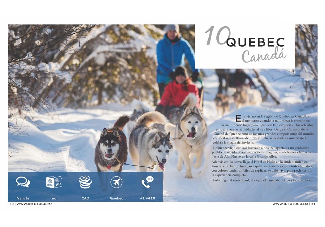 10. Quebec, Canadá