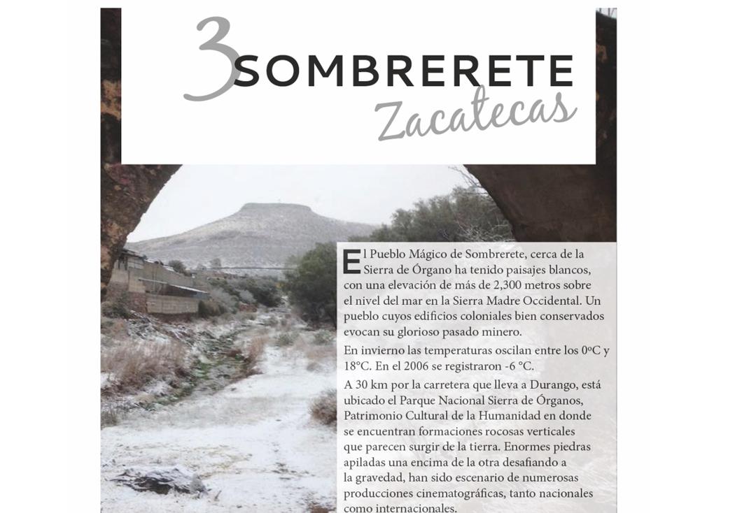 3. Sombrerete, Zacatecas