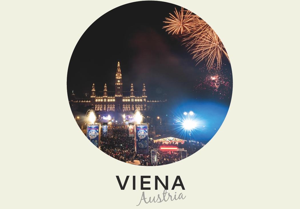 Año nuevo 2018: Viena, Austria