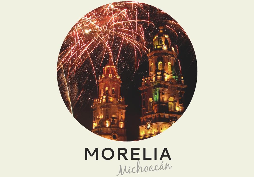 Año nuevo 2018: Morelia, Michoacán