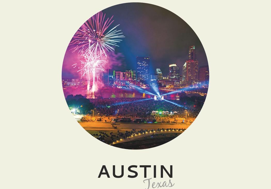 Año nuevo 2018: Austin, Texas