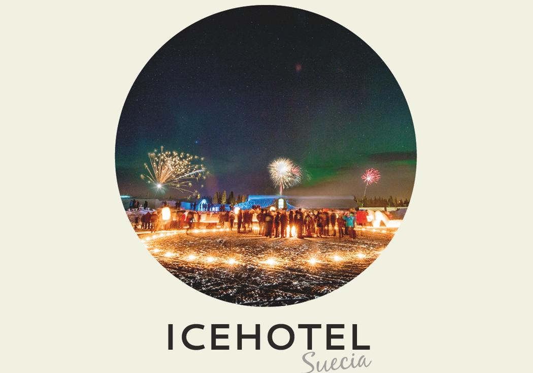 Año nuevo 2018: IceHotel, Suecia