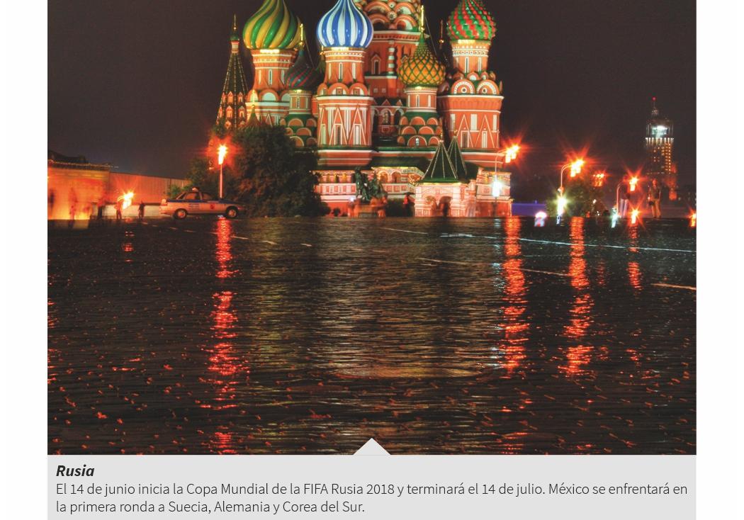5. Rusia: Mundial de futbol