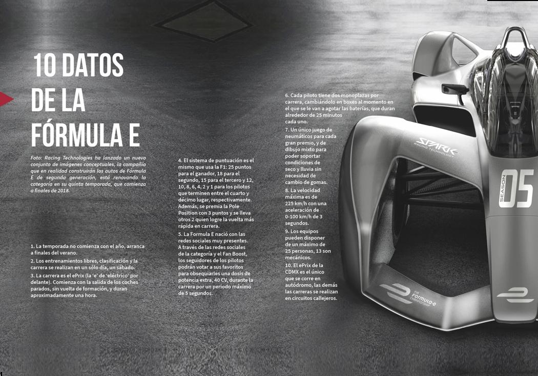 10 datos de la Fórmula E